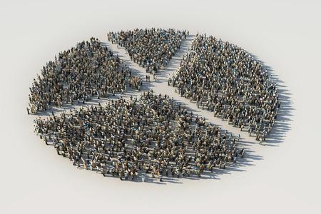 sociological: diagram of crowds