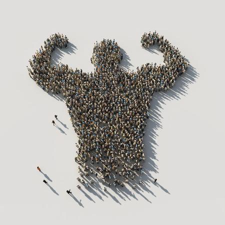 Stärke in der Einheit Lizenzfreie Bilder