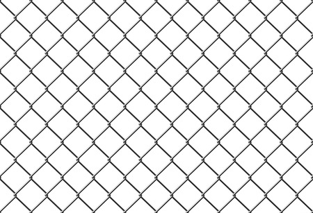 mesh: seamless metal mesh fence
