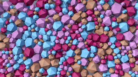 crystal background: abstract background color crystal Stock Photo