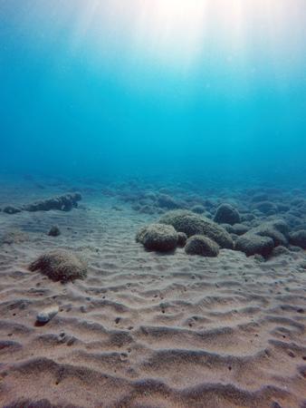 sand dunes on the sea floor