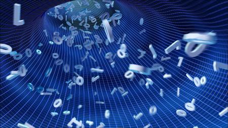 turbulence: binary code streaming in the tube