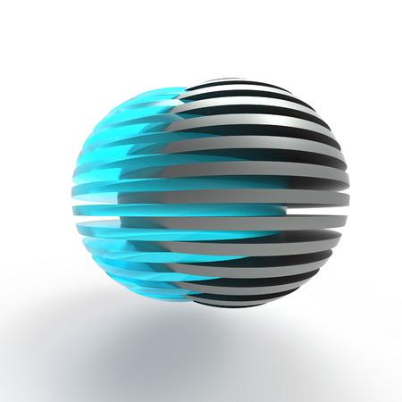 esfera: conectar las esferas en rodajas