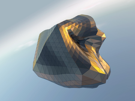 forme: abstract architectural shape