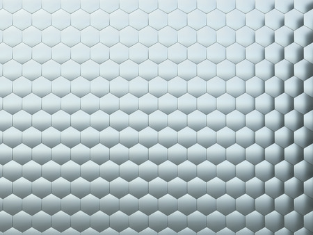 Artificial hexagonal surface