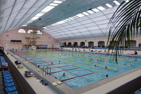 50 meter indoor swimming pool