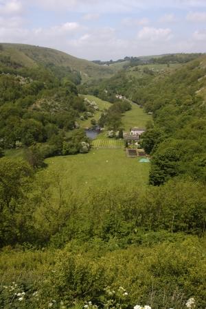 derbyshire: Monsal Dale, Derbyshire, UK Stock Photo