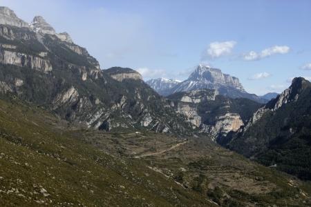 ordesa: Spanish pyrenees, Ordesa National Park Stock Photo