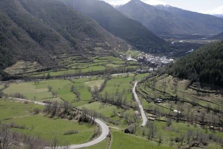 pyrenees: Spanish pyrenees Stock Photo