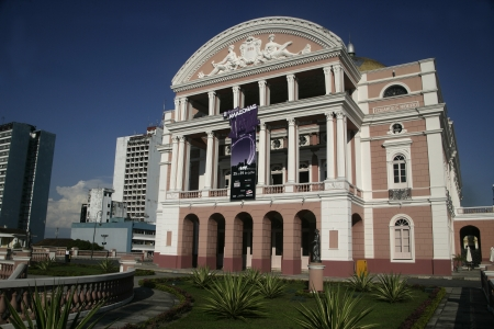 The Manaus Opera House (also known as The Amazon Theatre) is a working historical landmark that currently accommodates the Amazonas Philharmonic and plays host to the annual Amazonas Opera Festival.
