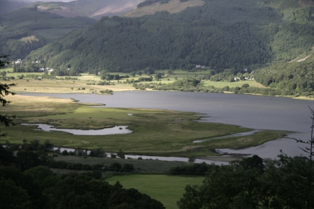 Bassenthwaite fells, Lake District in Cumbria, UK Stock Photo - 23569206