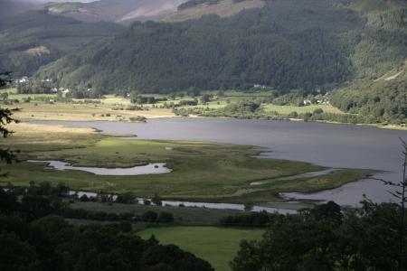 fells: Bassenthwaite fells, Lake District in Cumbria, UK