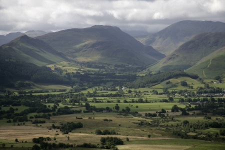 Bassenthwaite fells, Lake District in Cumbria, UK Stock Photo - 23569223