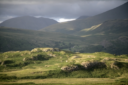 Birker Fell, Lake District in Cumbria, UK Stock Photo