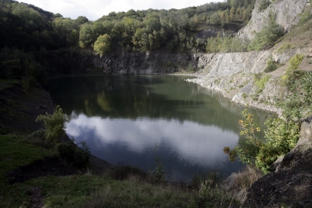 gullet: Gullet cantera, la colina de Malvern, Worcestershire