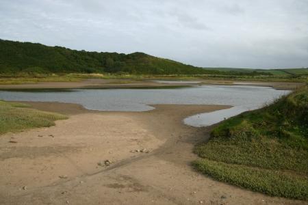 pembrokeshire: Gann Estuary near Dale, Pembrokeshire coast, Wales