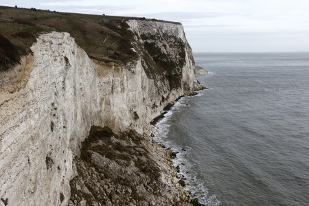 dover: White cliffs of Dover, Kent, March 2014