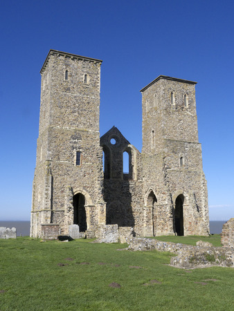 mary's: St Marys Church, Reculver, Kent.