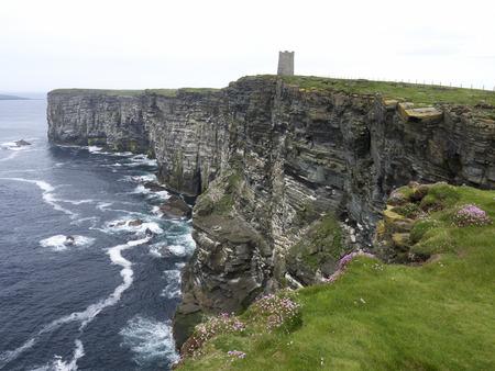 mainland: Marwick Head, Orkney mainland, June 2014 Stock Photo
