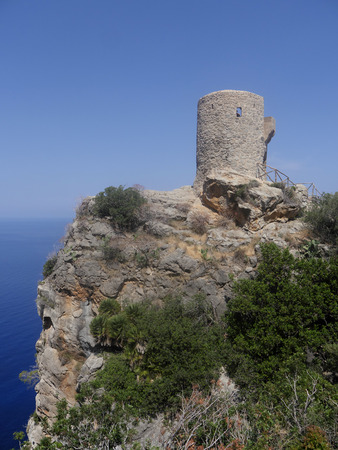 des: Torre des Verger, watch tower, Majorca, June 2015
