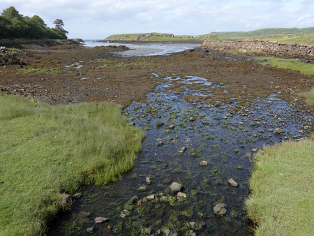 mull: Croig estuary, Isle of Mull, Scotland, July 2015 Stock Photo