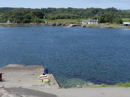 mull: Loch Tuath, Isle of Mull, Scotland, July 2015