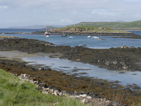 mull: Croig estuary, Isle of Mull, Scotland, July 2015 Editorial