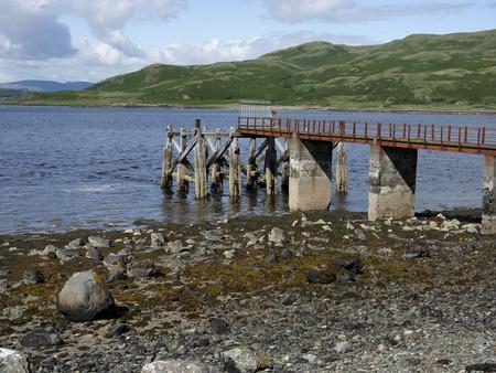mull: Loch Spelve, Isle of Mull, Scotland, July 2015