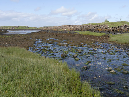 mull: Croig estuary, Isle of Mull, Scotland, July 2015 Editorial