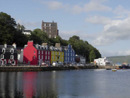 mull: Tobermory, Isle of Mull, Scotland, July 2015 Editorial