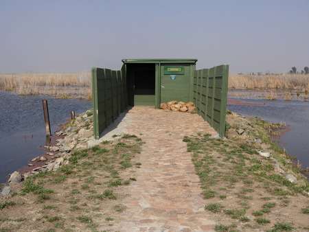 reserve: Marievale Nature Reserve, Otter Hide, South Africa