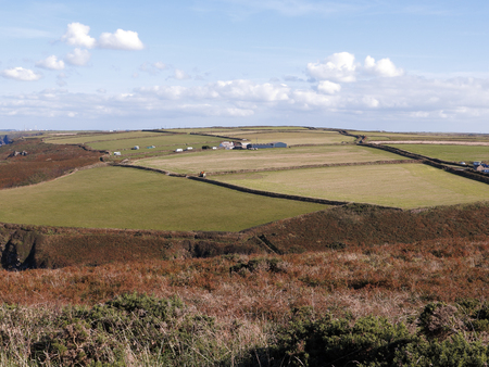 Pembrokeshire, Looking from the Old Deer Park by Martins haven, September 2018 Imagens