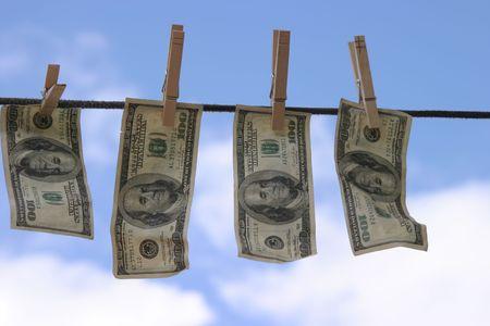 laundered: Freshly Laundered money.