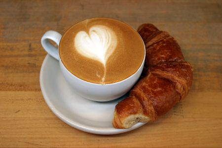 resturant: breakfast Stock Photo