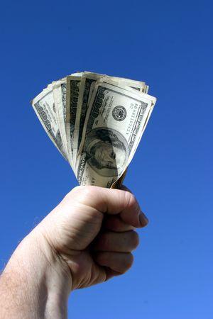 bucks in the hand photo