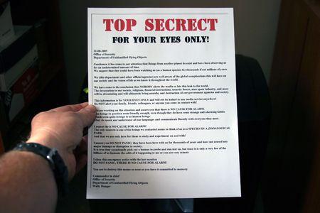 shredding secret documents photo