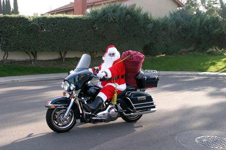 sled: santa rides again