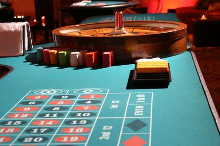 played: roulette being played right before your eyes