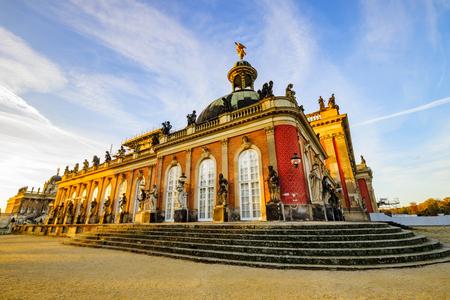 Potsdam, Germany-November 2014:Park Sanssouci, Potsdam, Germany