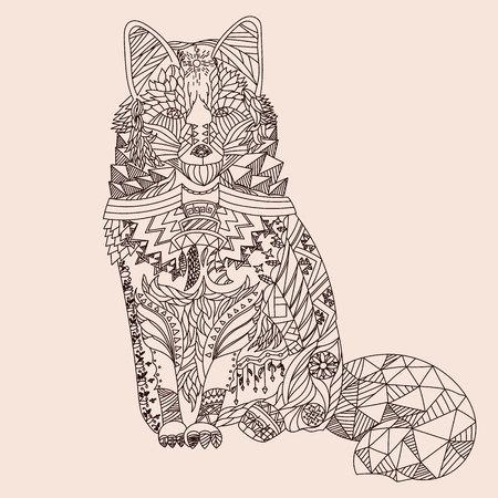 Fox à motifs