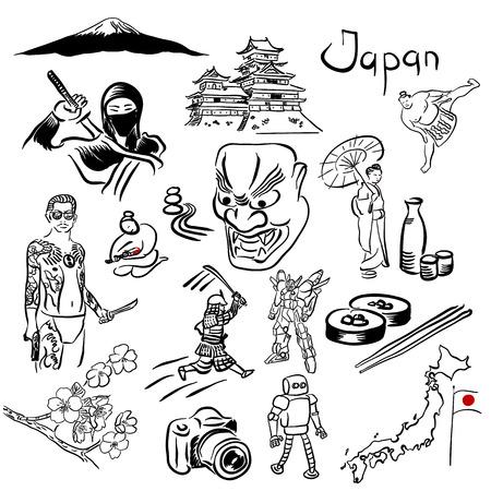 日本シンボル ベクトルを設定