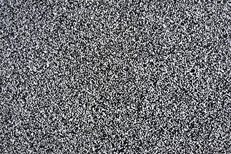 close up of white noise