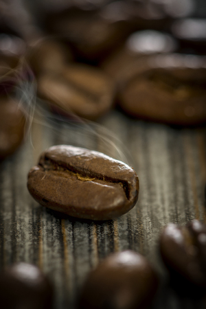 coffee bean macro