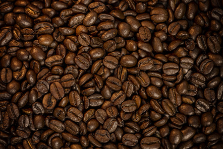 coffee beans full frame