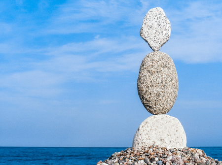the real zen stone balance for the equilibrium of mind, body and soul
