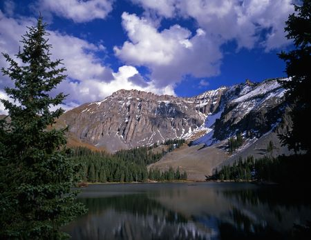 Alta lake in the Uncompahgre National Forest, Colorado.