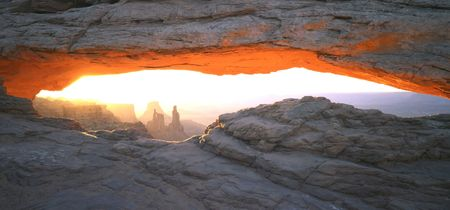 Mesa Arch in Canyonlands National Park, Utah. Stock Photo - 717844