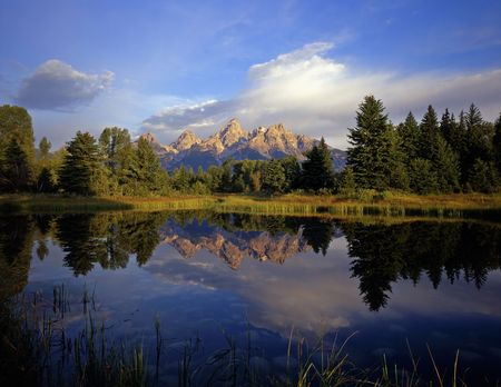 Schwabackers Landing in Grand Teton National Park, Wyoming.