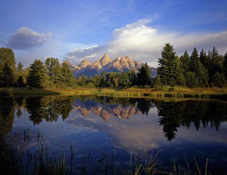 teton: Schwabackers sbarco in Grand Teton National Park, Wyoming.