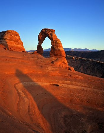 Delicate Arch in Arches National Park, Utah.